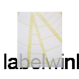 T1516-500 etiket avery zweck t1516-500 89x23.4mm 1baans