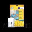 J8435-25 cd inlegkaart avery j8435-25 151x118mm 165gr