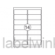 129956 etiket quantore 99.1x38.1mm 1400st