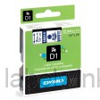 Dymo 45014 D1 Tape 12mm x 7m blauw op wit