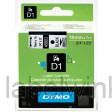 Dymo 45803 D1 Tape 19mm x 7m zwart op wit