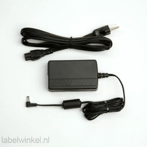 Voeding voor Zebra GK420 serie printers met EU en US kabels