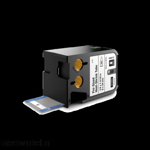 DYMO 1868717 XTL Krimpkous 6x34mm zwart op wit