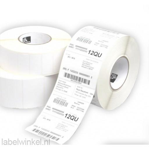 Z-Perform 1000T etiketten 102x152mm, 475/rol 12 rollen, thermal transfer