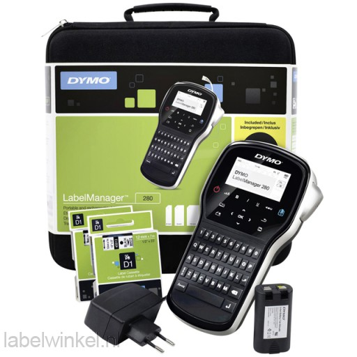 Dymo 2091152 LabelManager 280 Case Kit Qwerty