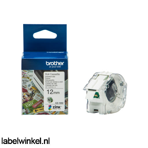 Brother CZ-1002 rolcassette 12mm x 5m
