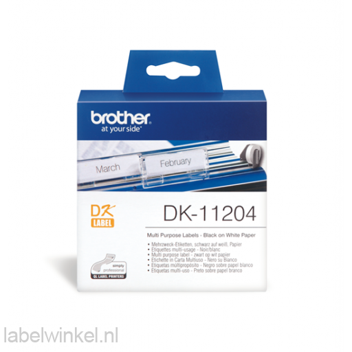 DK-11204 Multipurpose Label 54 mm x 17 mm