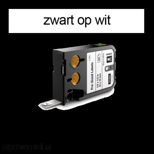 DYMO 1868701 XTL Label 19x25mm zwart op wit