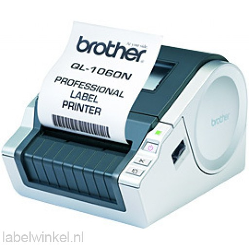 Brother QL-1060N Labelprinter voor DK labels en tapes van 12 tot 102 mm - netwerkklaar - 300 dpi