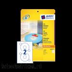 L6015-25 etiket avery zweck cd l6015-25 50st
