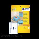 C32250-25 cd inlegkaart avery zweck c32250-25 151x118mm 25st