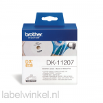 DK-11207 58 mm Ø - CD/DVD label wit