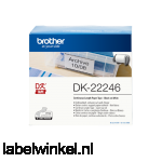 Brother DK-22246 doorlopend papier 103 mm x 30,48 m