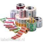 Zebra 3003355 polypropylene labels 76x25mm, wit, 4000D