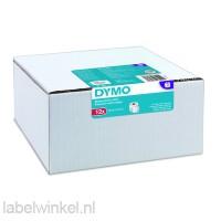 Dymo 2093095 12-pack etiketten 32x57mm wit papier, verwijderbaar