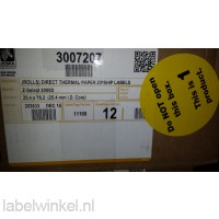Z-Select 2000D labels 25x76mm, 930/rol, 12 rollen