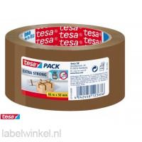 Tesa Bruine Verpakkingstape Extra Sterk 50mm x 60m