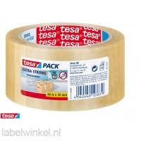 Tesa Transparante Verpakkingstape Extra Sterk 50mm x 60m