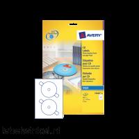 C9660-25 etiket avery cd c9660-25 hoogglans 50st