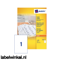 DP001-100 etiket avery dp001-100 210x297mm 100st