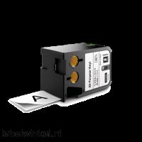 DYMO 1868754 XTL universele vinyl tape 41mm zwart op wit