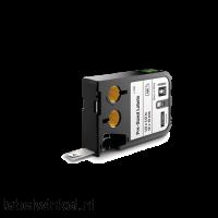 DYMO 1868669 XTL label 9x25mm zwart op wit