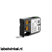 DYMO 1868667 XTL label 12x38mm zwart op wit