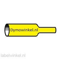Dymo RHINO 18052 krimpkous zwart op geel 6mm