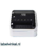 Brother QL-1110NWB brede labelprinter met USB, LAN, WLAN en Bluetooth aansluiting