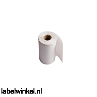 RD-P08E5 Doorlopende rol thermisch papier 76mm - wit