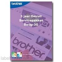 Brother 3 jaar omruil service