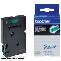 Brother TC-791 Tape Zwart op groen, 9mm