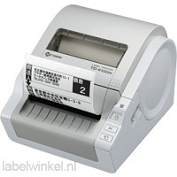 Brother TD-4100N Professionele netwerk labelprinter voor RD labels en rollen van 51 tot 102 mm - 300 dpi